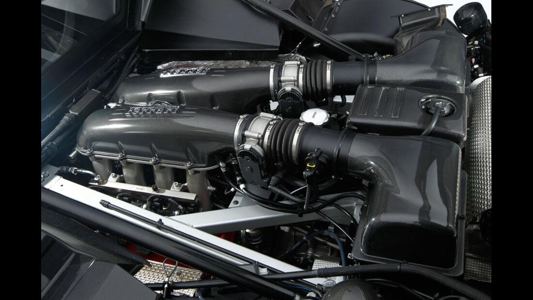 Lancia New Stratos, Achzylinder-Motor