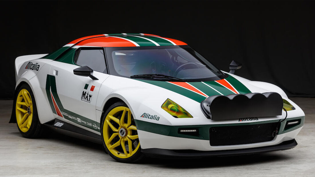 Lancia New Stratos Coupe