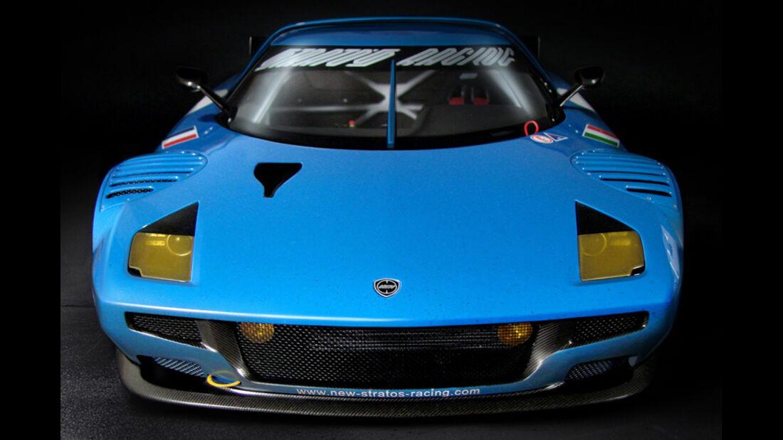 Lancia New Stratos, Front