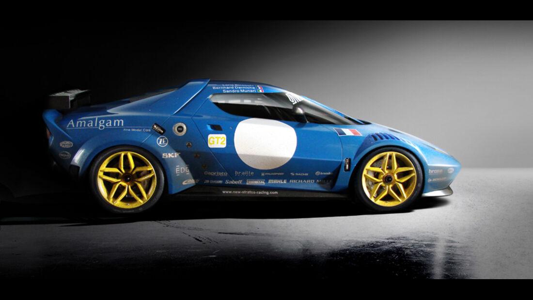 Lancia New Stratos, Seite