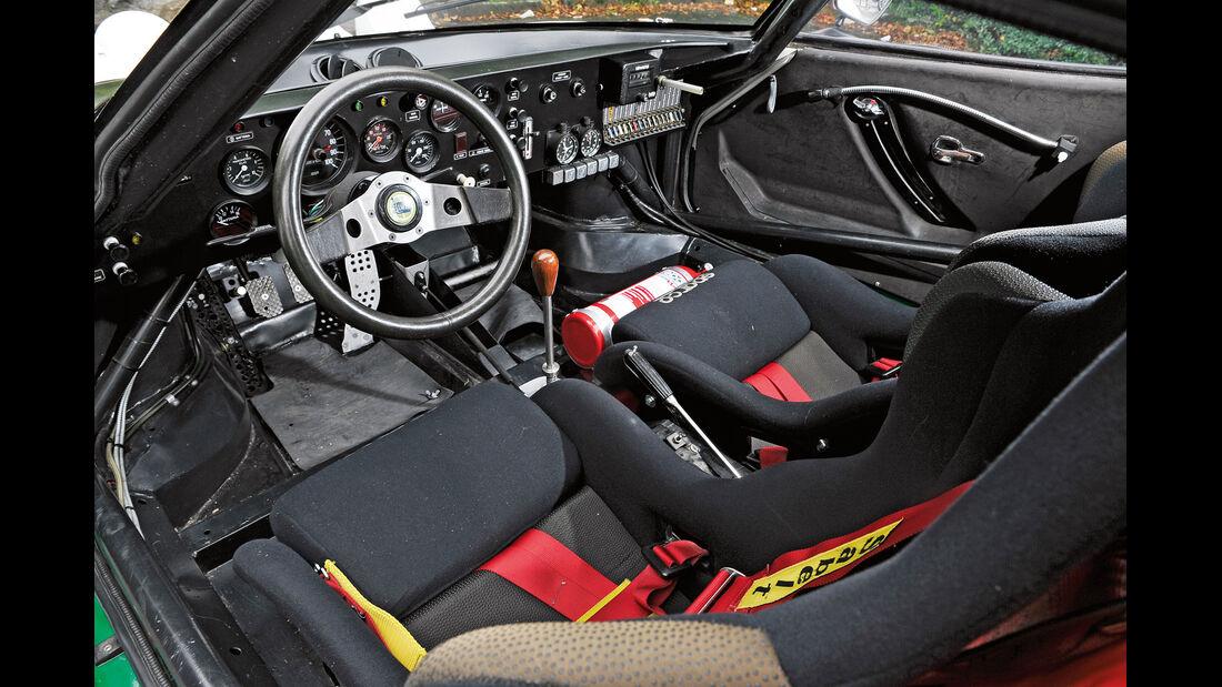 Lancia Stratos HF, Cockpit
