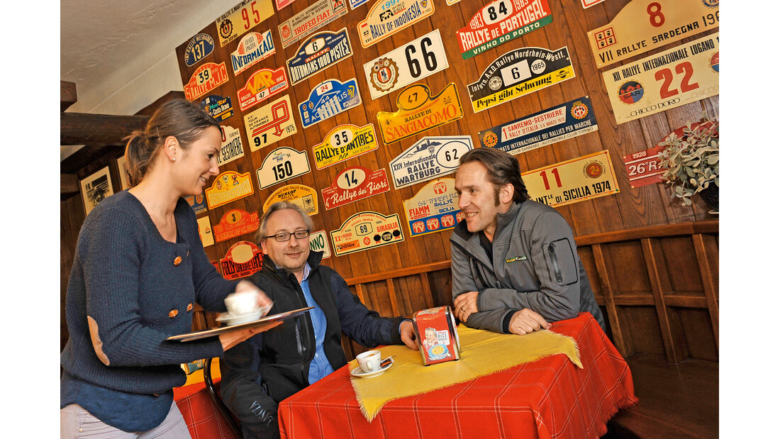 Lancia Stratos HF, Lancia Fulvia 1.3, Cafe