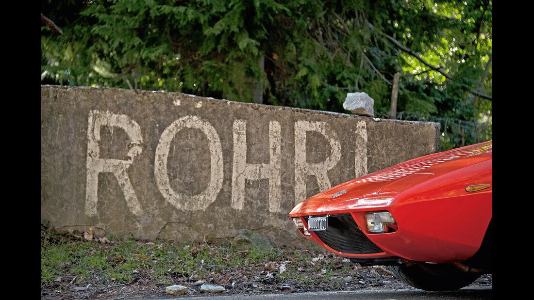 Lancia Stratos HF, Lancia Fulvia 1.3, Röhrl