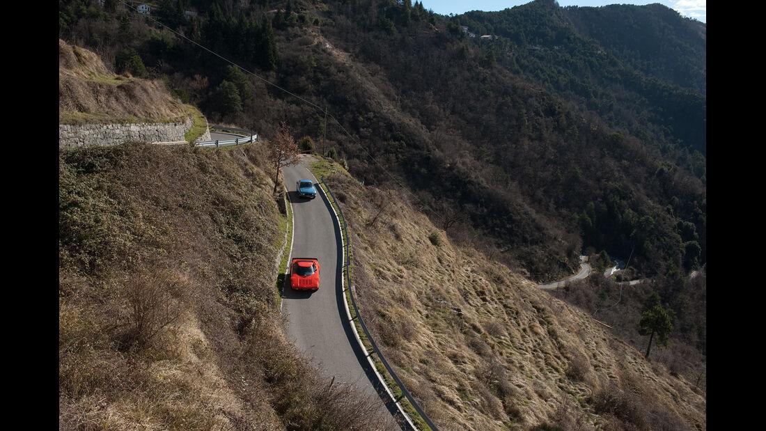 Lancia Stratos HF, Lancia Fulvia 1.3, Serpentinen