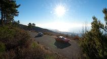 Lancia Stratos HF, Lancia Fulvia 1.3, Sonnenuntergang
