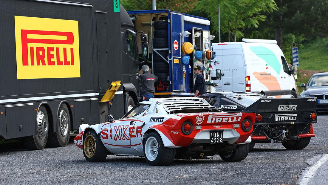 Lancia Stratos und Lancia Rally 037