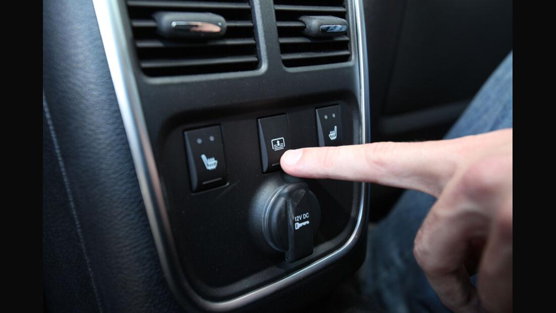 Lancia Thema 3.0 V6 Multijet Platinum, Schalter, Detail