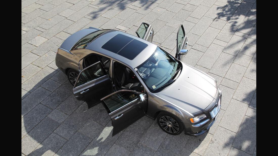 Lancia Thema 3.0 V6 Multijet Platinum, Seitentüren