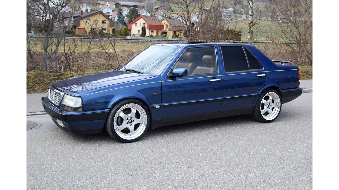 Lancia Thema 8.32 1989 Oldtimer Auktion Toffen