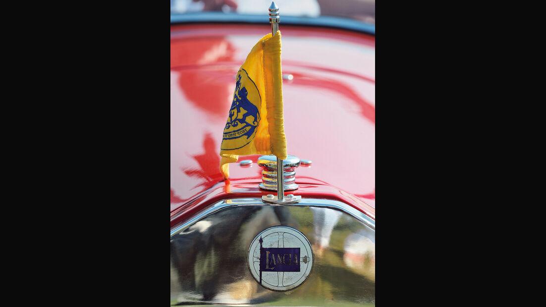 Lancia, Typenbezeichnung, Fahne