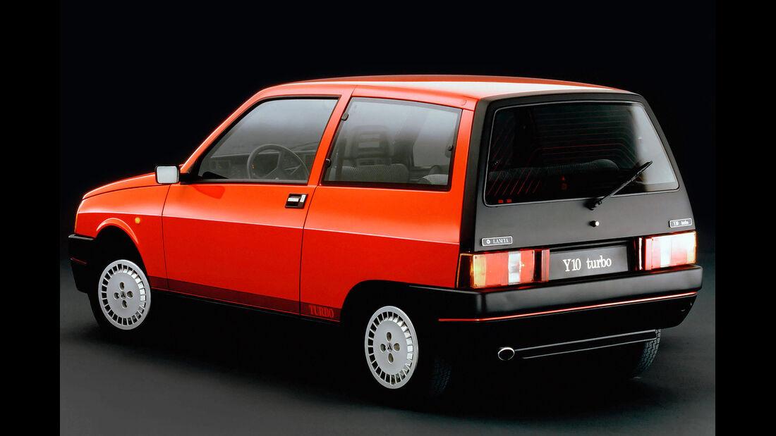 Lancia Y10 Turbo, Heckansicht