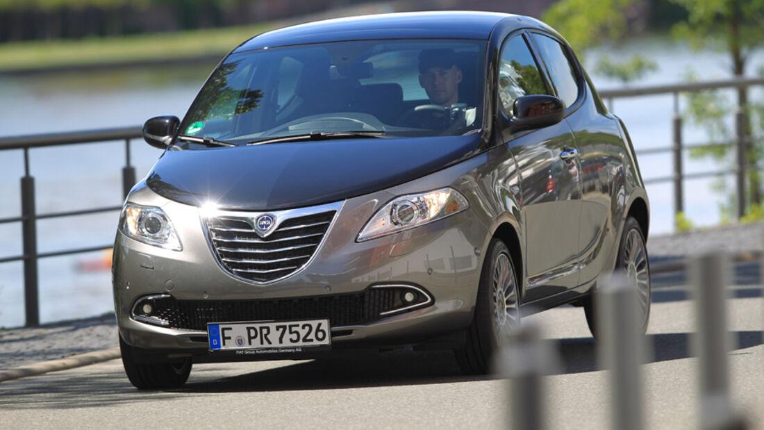 Lancia Ypsilon 0.9 Twinair, Frontansicht, Front