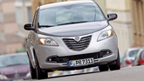 Lancia Ypsilon 0.9 Twinair Platinum, Frontansicht