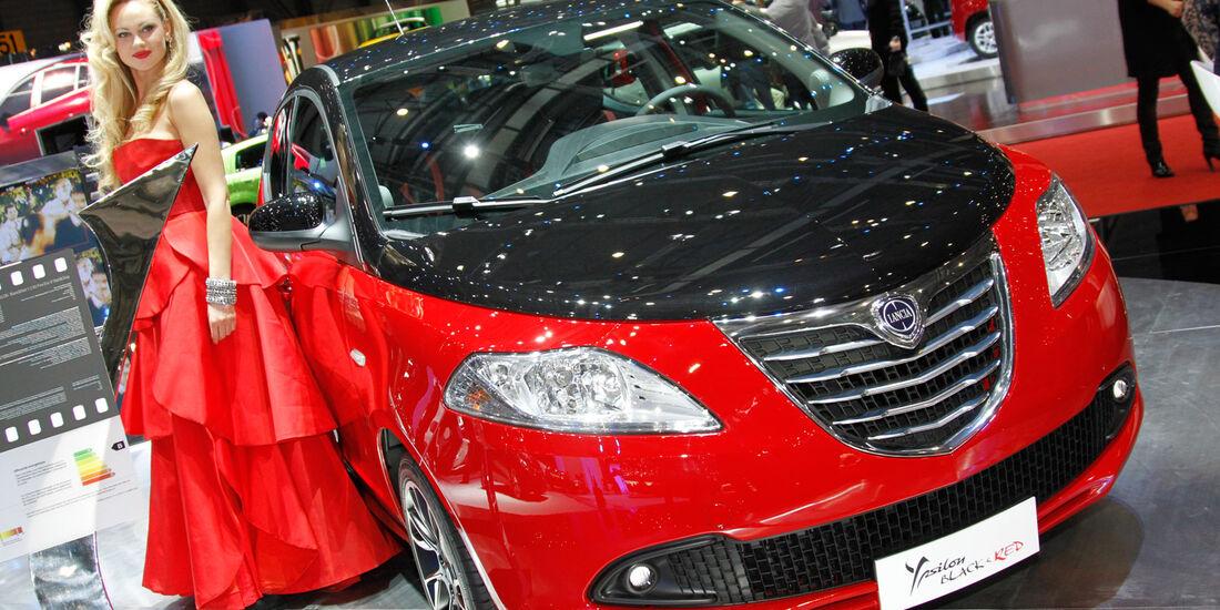Lancia Ypsilon, Autosalon Genf 2012, Messe