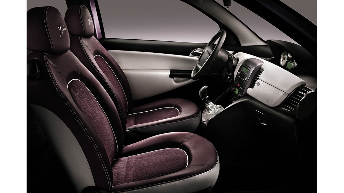 Lancia Ypsilon Elle Innenraum