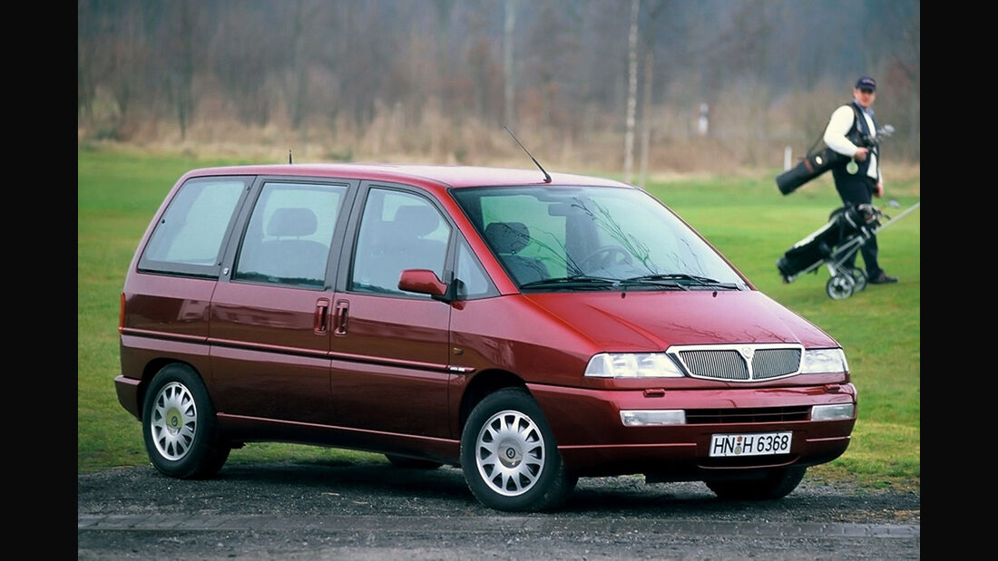 Lancia Zeta 2.0 Turbo, Frontansicht