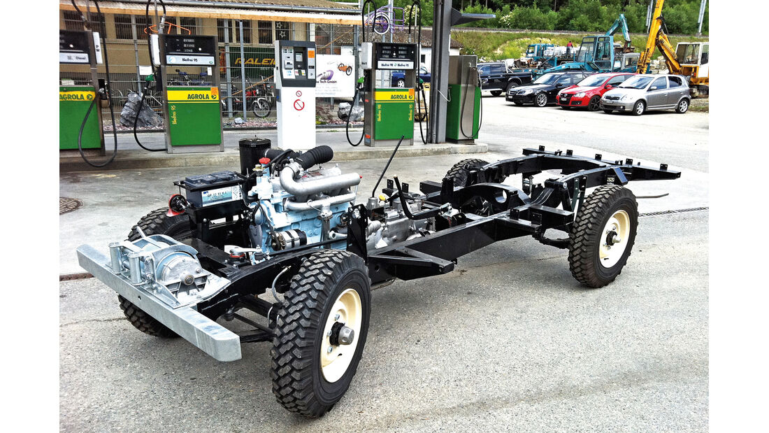 Land Rover 109 Diesel S III, Chassis