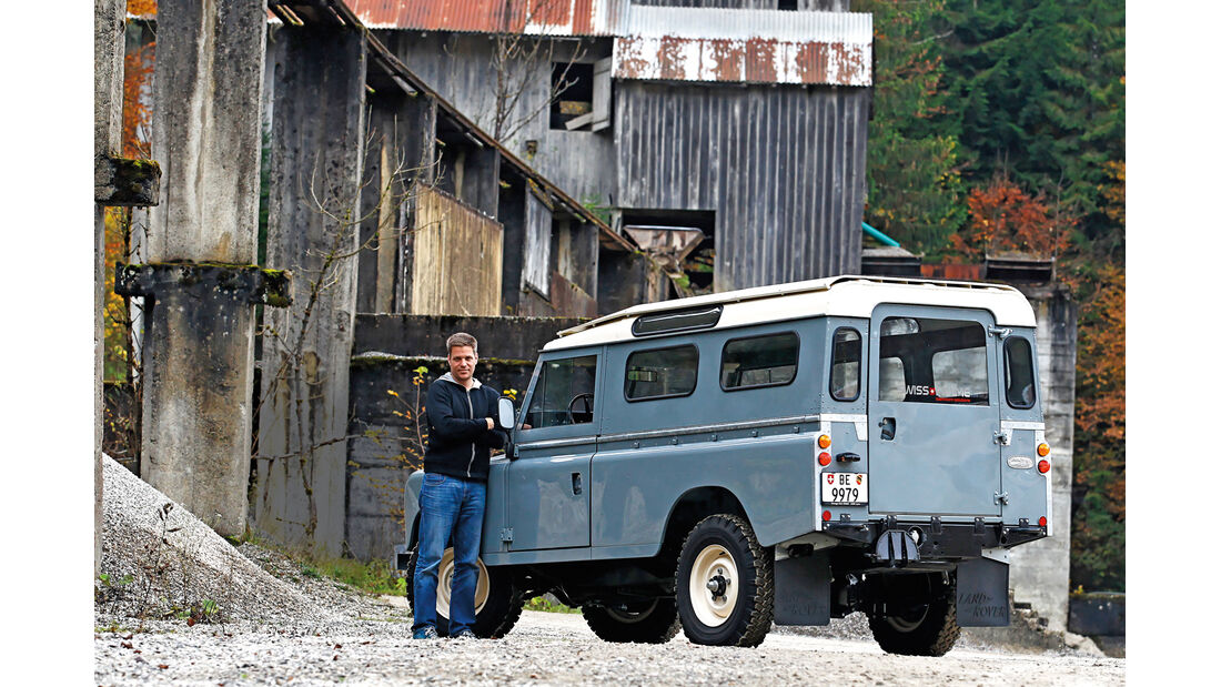 Land Rover 109 Diesel S III, Heckansicht