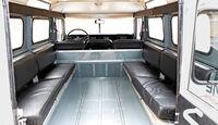 Land Rover 109 Diesel S III, Innenraum, Sitzbänke