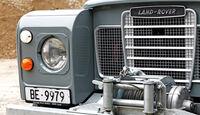 Land Rover 109 Diesel S III, Kühlergrill