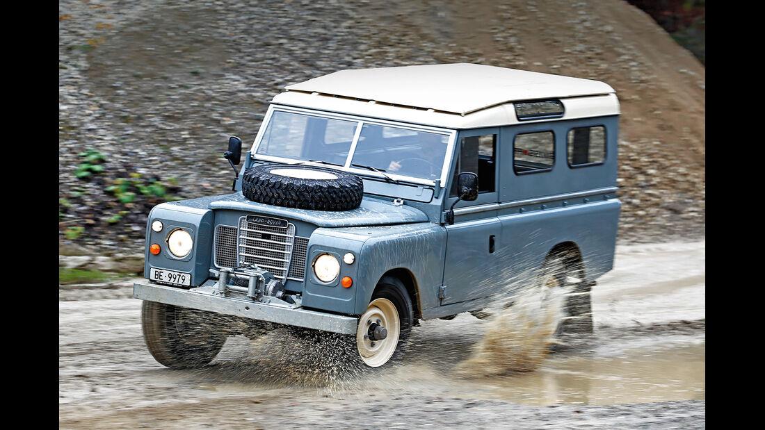 Land Rover 109 Diesel S III, Seitenansicht