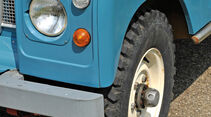 Land Rover 109, Rad, Felge