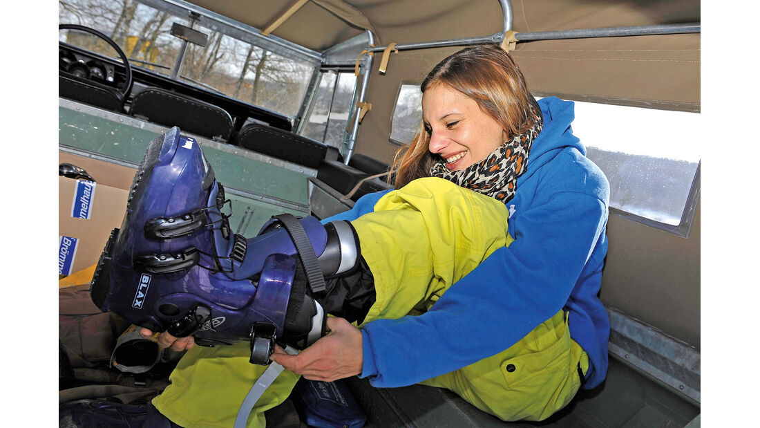 Land Rover 109 Serie 3, Anna Matuschek