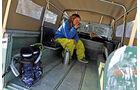 Land Rover 109 Serie 3, Anna Matuschek, Ladefläche