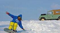 Land Rover 109 Serie 3, Seitenansicht, Anna Matuschek