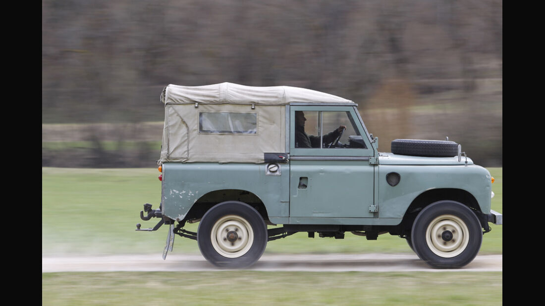 Land Rover 88 Serie III Softtop