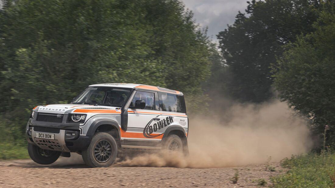 Land Rover Bowler Defender Challenge 2022