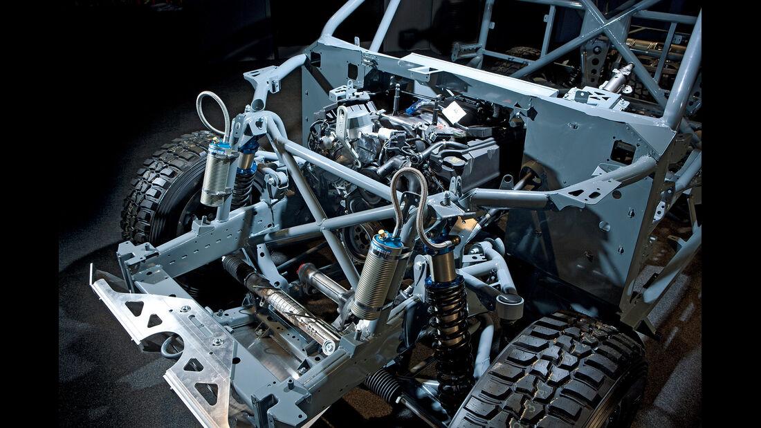 Land Rover Bowler EXR-S, Fahrwerk