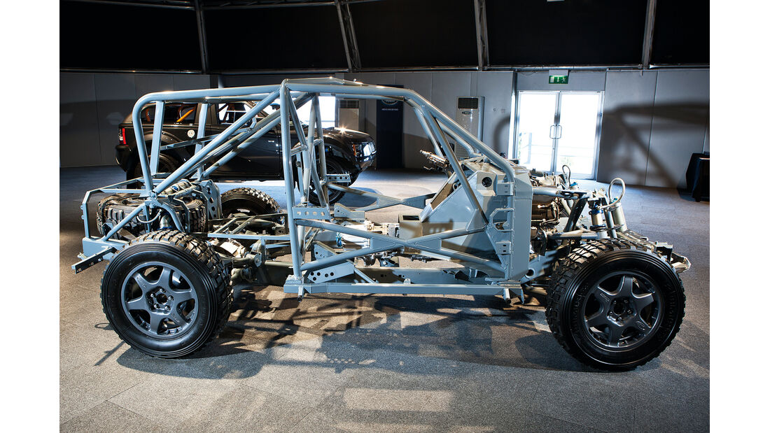 Land Rover Bowler EXR-S, Rahmen