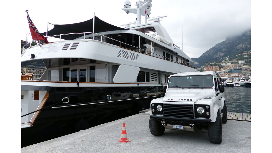 Land Rover -  Carspotting - Formel 1 - GP Monaco 2015