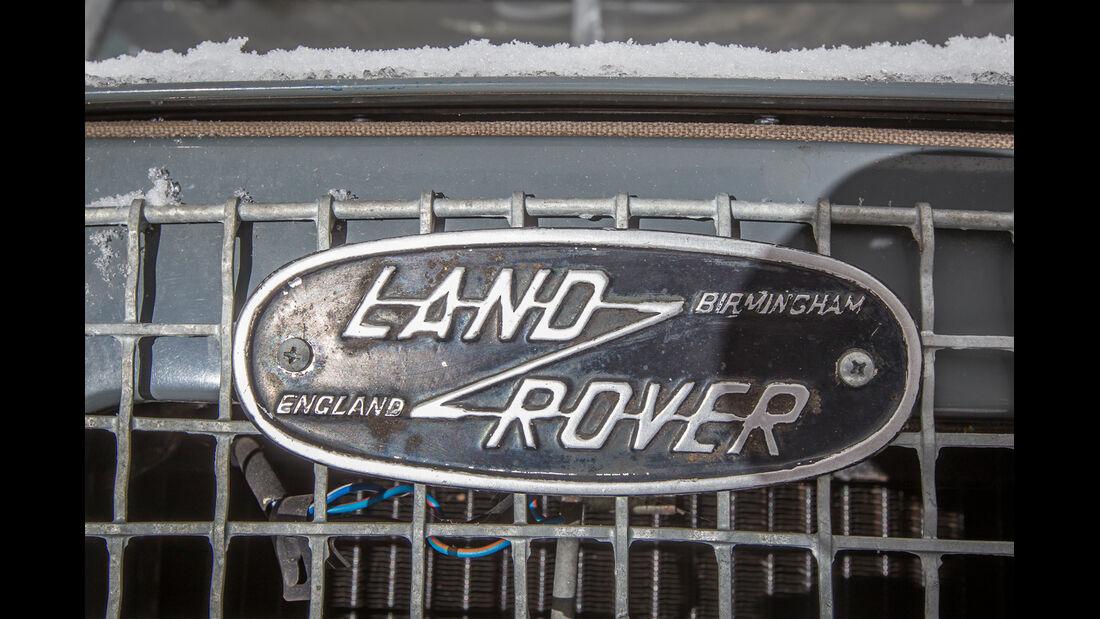 Land Rover Cuthbertson, Typenbezeichnung, Emblem