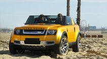 Land Rover DC100 Sport, Front