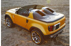 Land Rover DC100 Sport, Heck