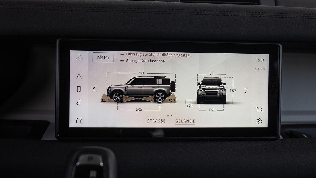 Land Rover Defender 110 D240 S, Interieur