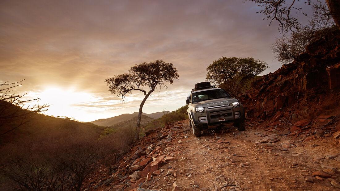 Land Rover Defender 110, Exterieur