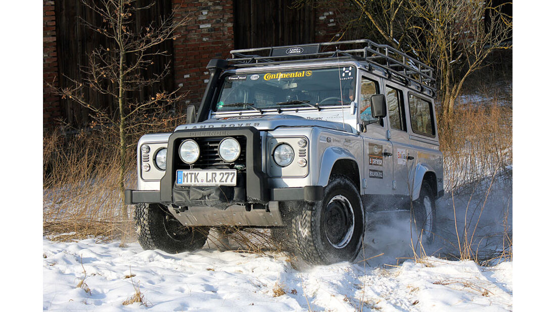 Land Rover Defender 2.2 TD4 2012 Test