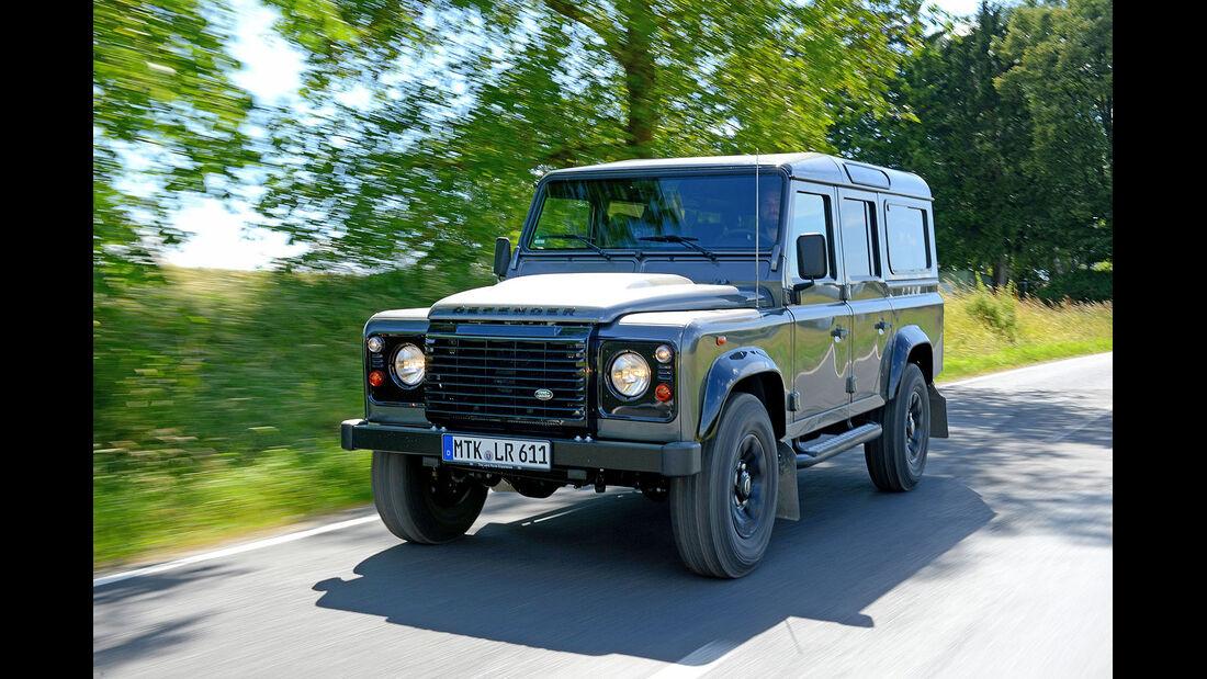 Land Rover Defender 2014 Siebensitzer