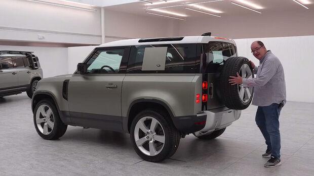 Land Rover Defender 2019