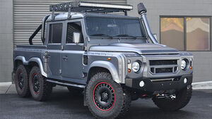 Land Rover Defender 6x6 Urban Warrior / Kahn Design