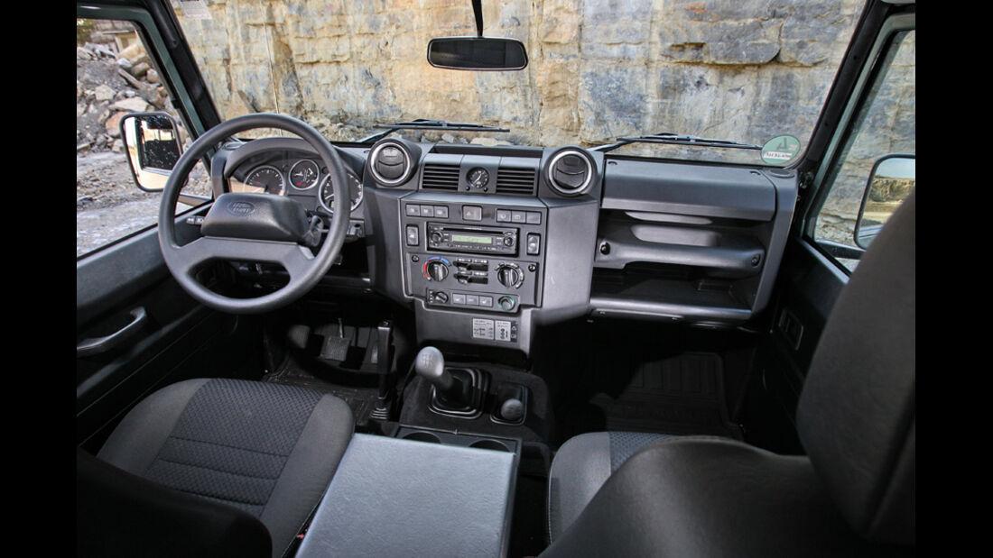 Land Rover Defender 90 TD4 - Armaturenbrett