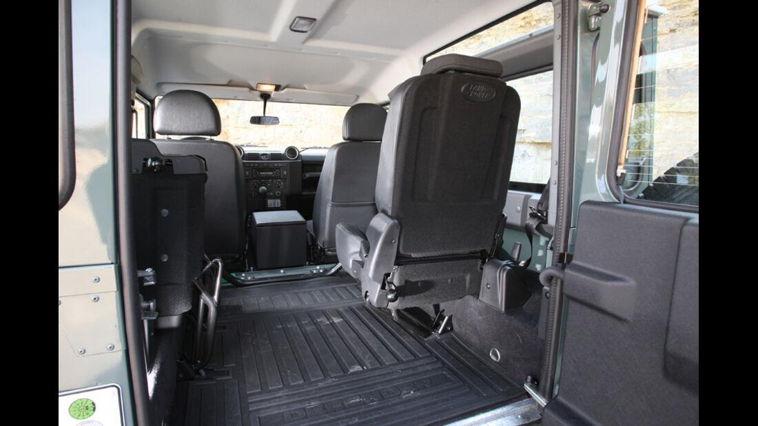 Land Rover Defender 90 TD4 Innenraum