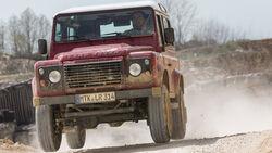 Land Rover Defender 90 TD4 SW, Frontansicht