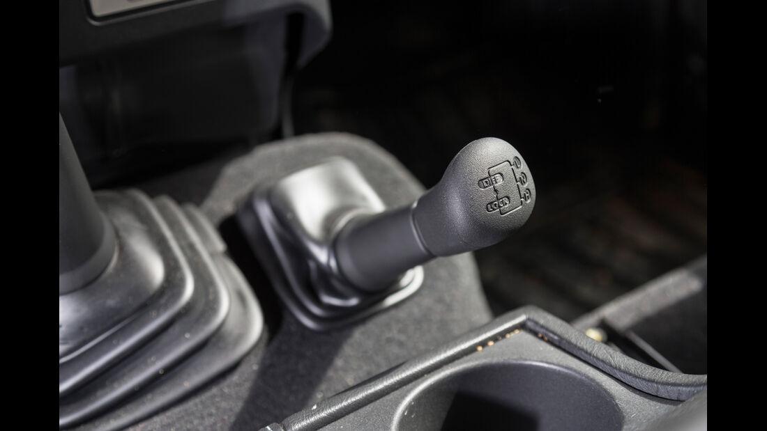 Land Rover Defender 90 TD4 SW, Schalthebel