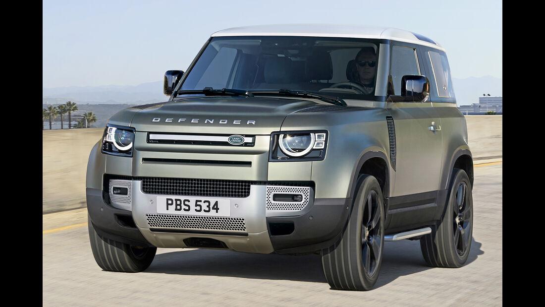 Land Rover Defender, Best Cars 2020, Kategorie K Große SUV/Geländewagen