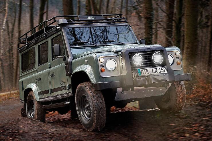 Land Rover Defender Blaser Edition Sondermodell
