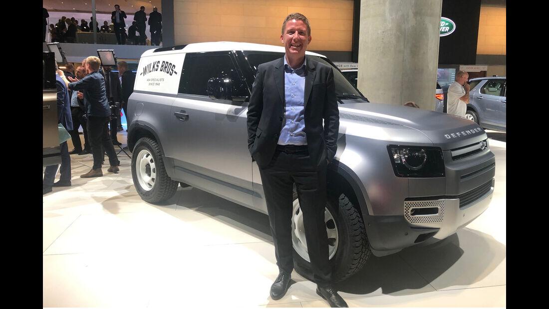 Land Rover Defender Dralle Pro und Contra IAA 2019